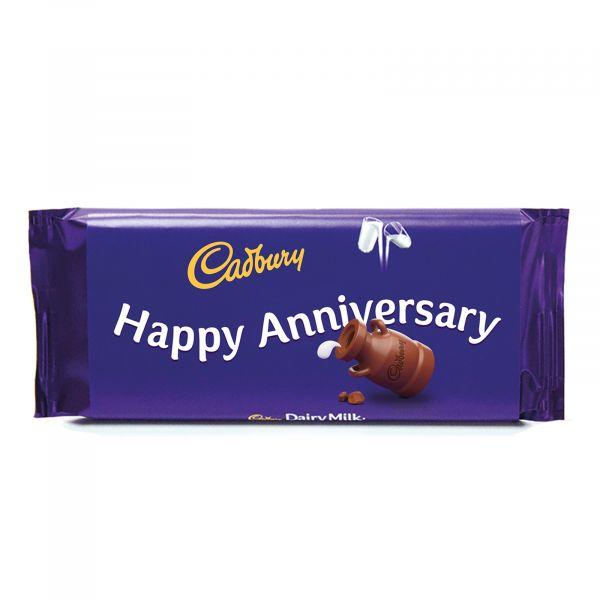 Personalised Cadbury Dairy Milk - Happy Anniversary