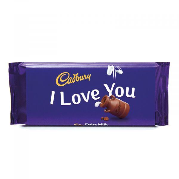 Personalised Cadbury Dairy Milk - I Love You