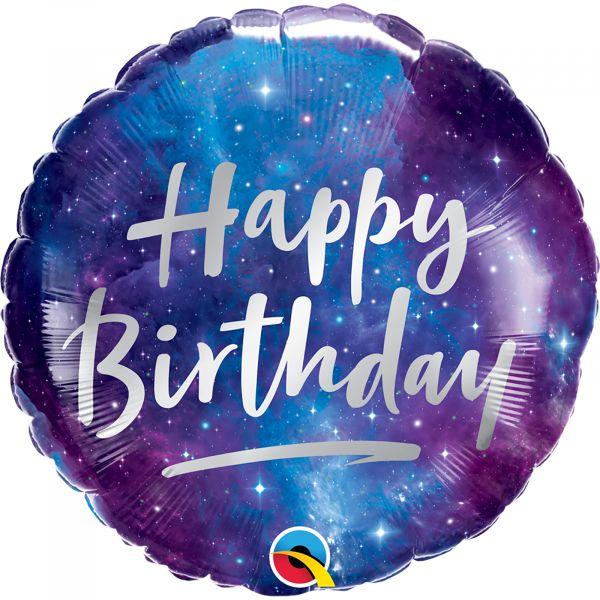 Birthday Galaxy Balloon