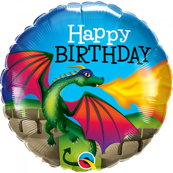 Birthday Mythical Dragon Balloon