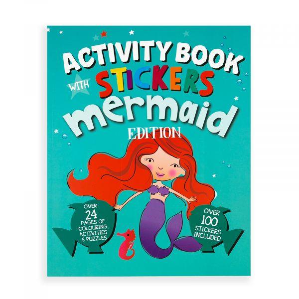 Stickers Activity Book Mermaid
