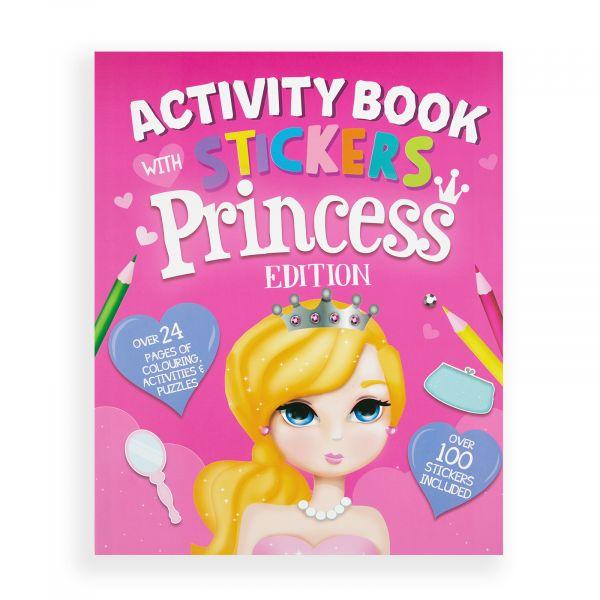 Stickers Activity Book Princess