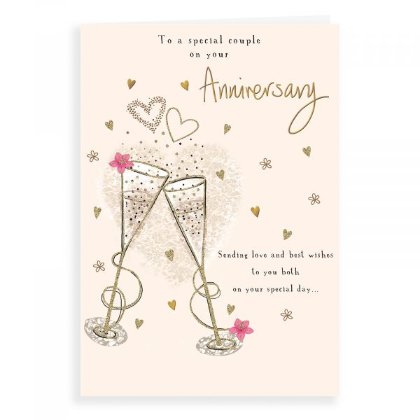 Anniversary Card Your, Special Couple