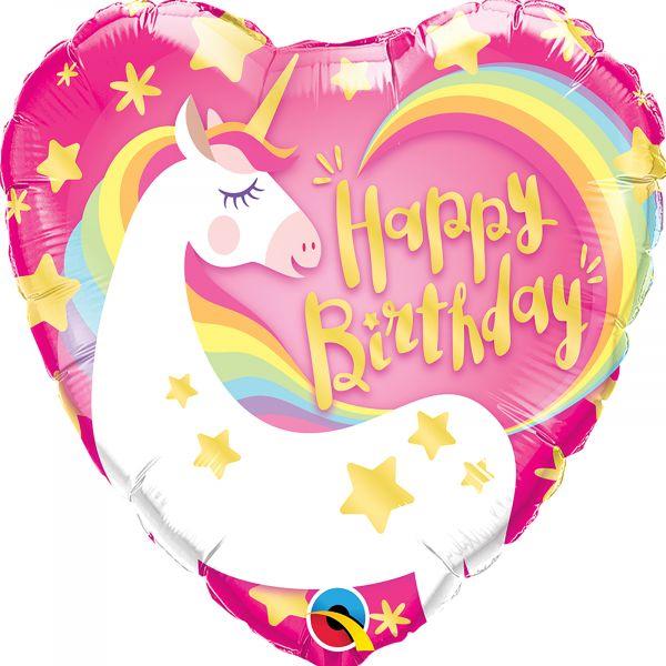 Birthday Magical Unicorn Balloon
