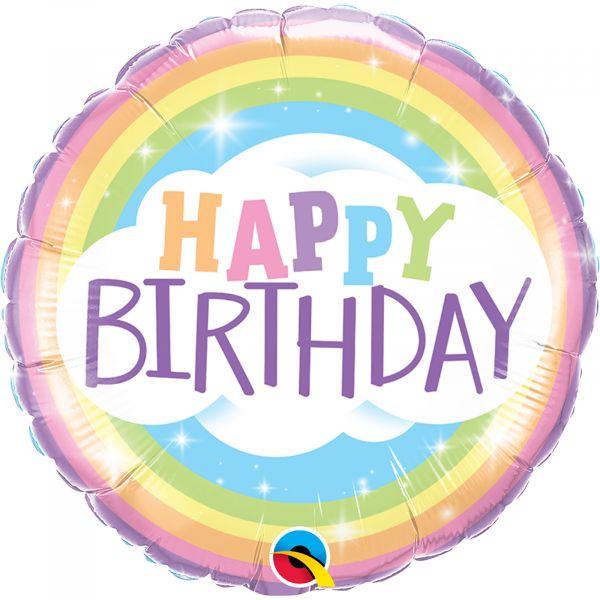 Birthday Rainbow Balloon