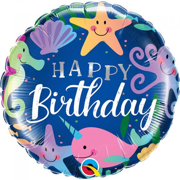 Birthday Fun Under Sea Balloon
