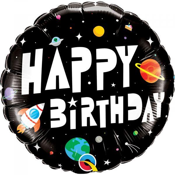 Birthday Astronaut Balloon