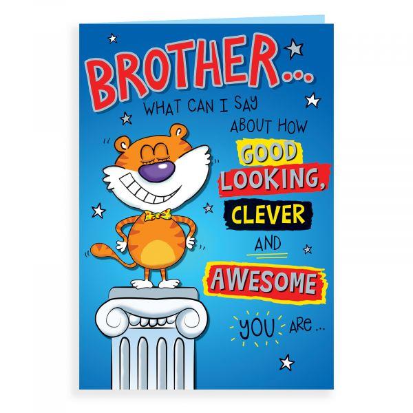 Birthday Card Brother, Good Looking