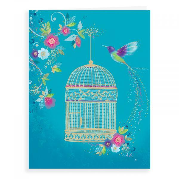 Blank Card, Birdcage