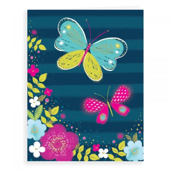 Blank Card, Butterflies