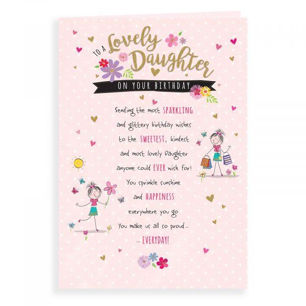 Birthday Card Daughter, Shopping