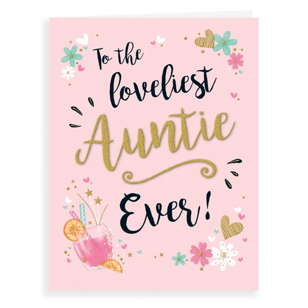 Birthday Card Auntie, Cocktail