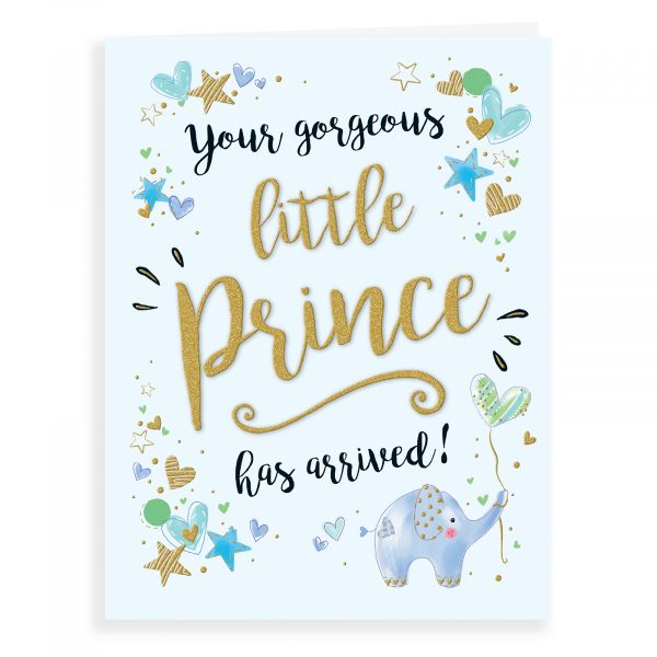 Baby Card Baby Boy, Little Prince