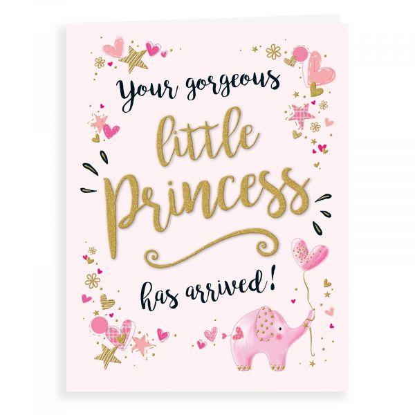 Baby Card Baby Girl, Little Princess