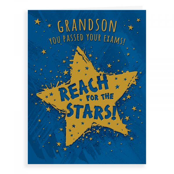 Congratulations Card Exam Grandson
