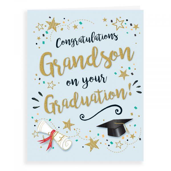 Graduation Card Grandson
