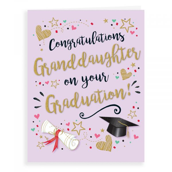 Graduation Card Granddaughter