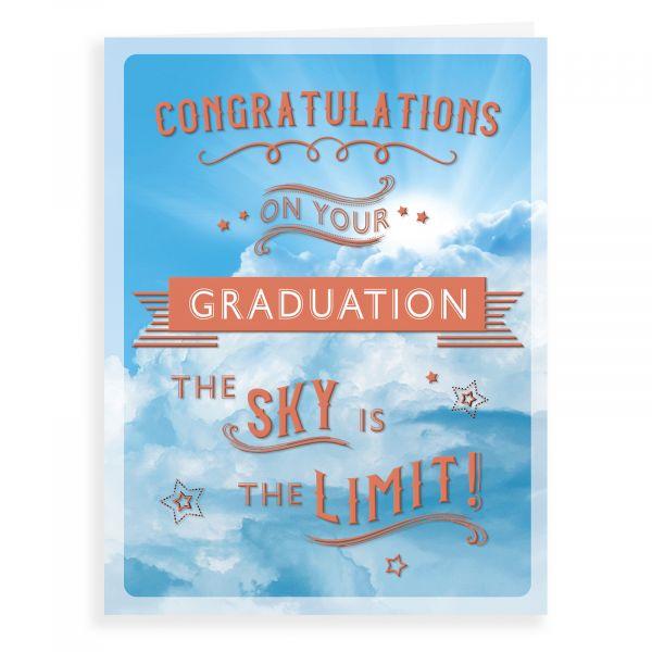 Graduation Card, Sky Is The Limit
