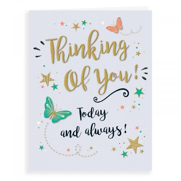 Thinking of You Card, Butterfly