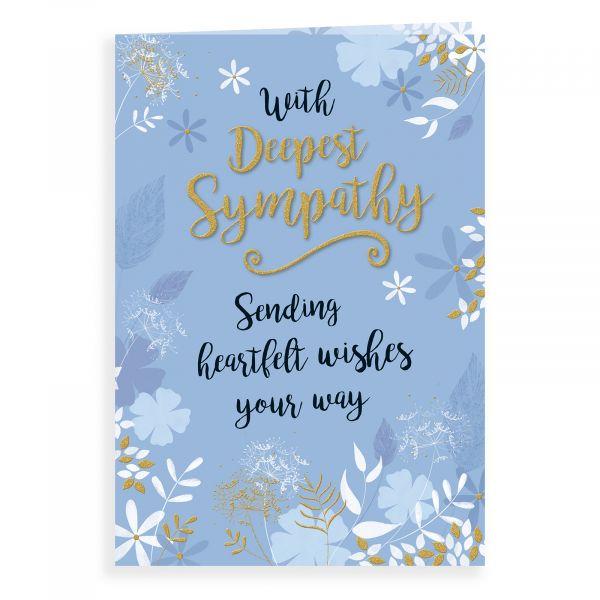 Sympathy Card, Floral