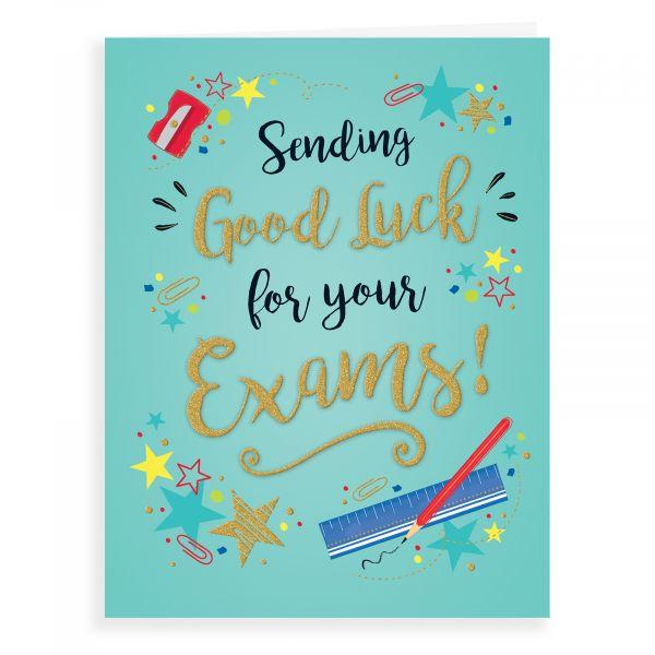 Good Luck Card Exam