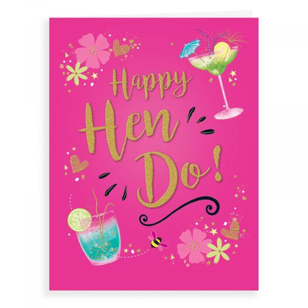 Wedding Card Hen Do