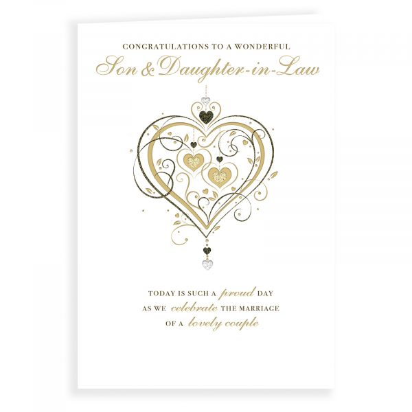 Wedding Card Son & Daughter In Law