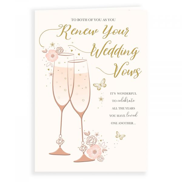Wedding Card Renewal of Vows