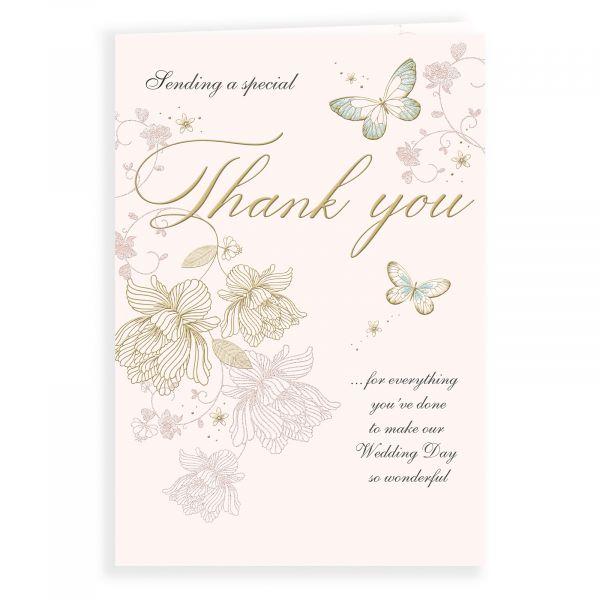 Wedding Card Thank You