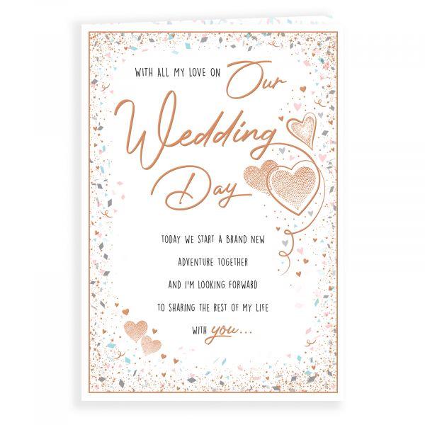 Wedding Card Our Wedding