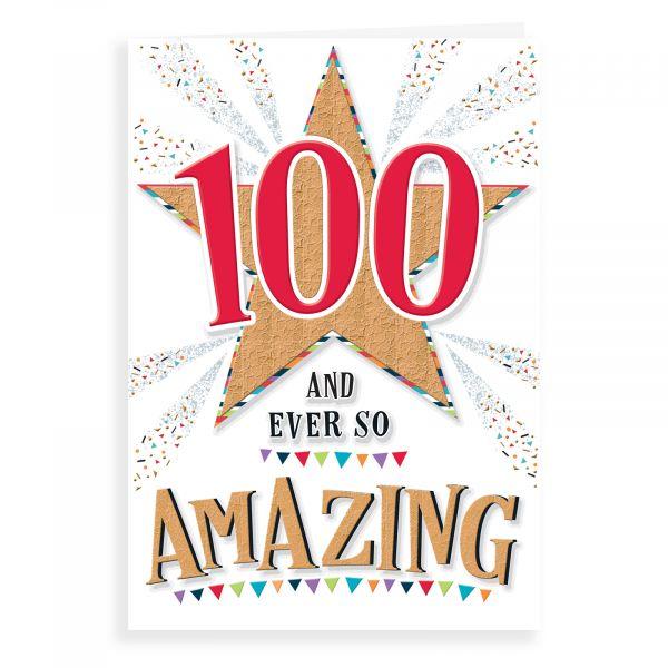 Birthday Card Age 100