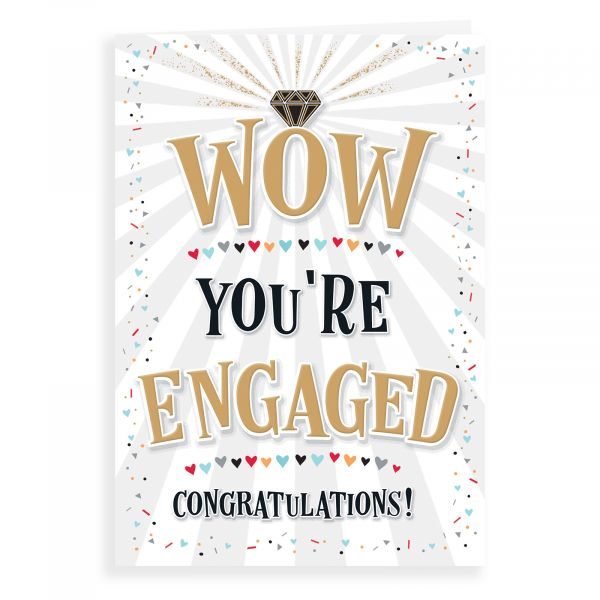 Engagement Card, Wow