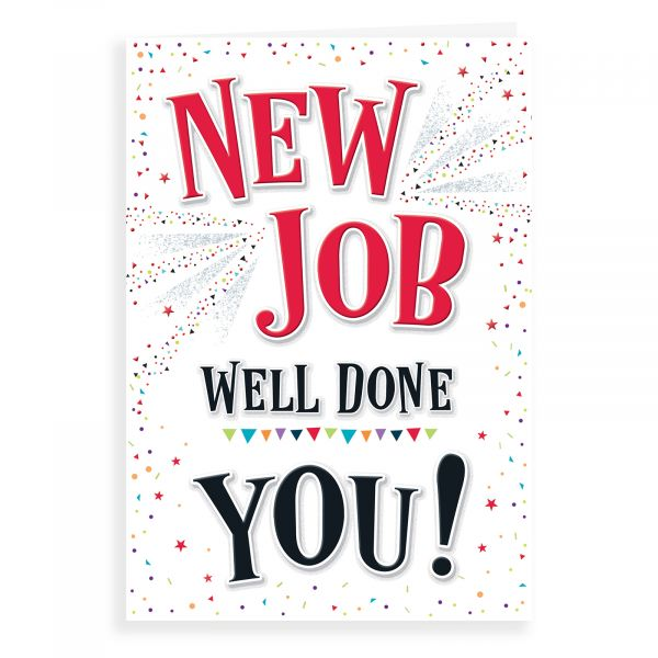 New Job Card, Well Done