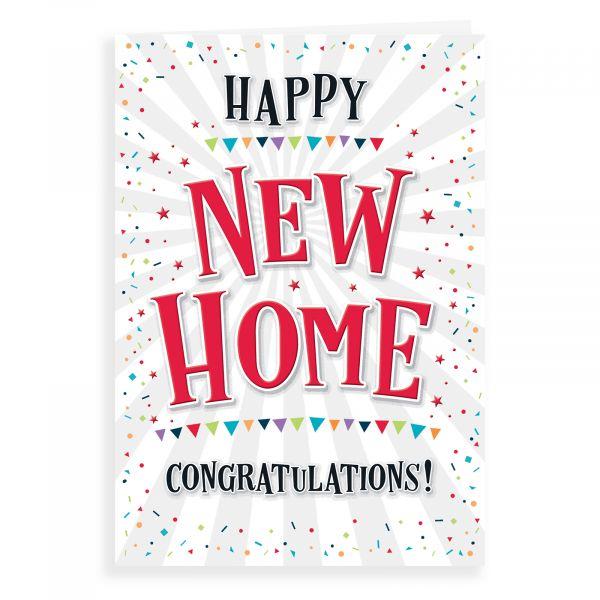 New Home Card, Congratulations