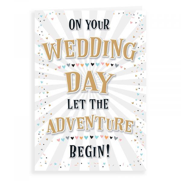 Wedding Card, Celebrations Begin