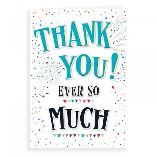 Thank You Card, Thank You