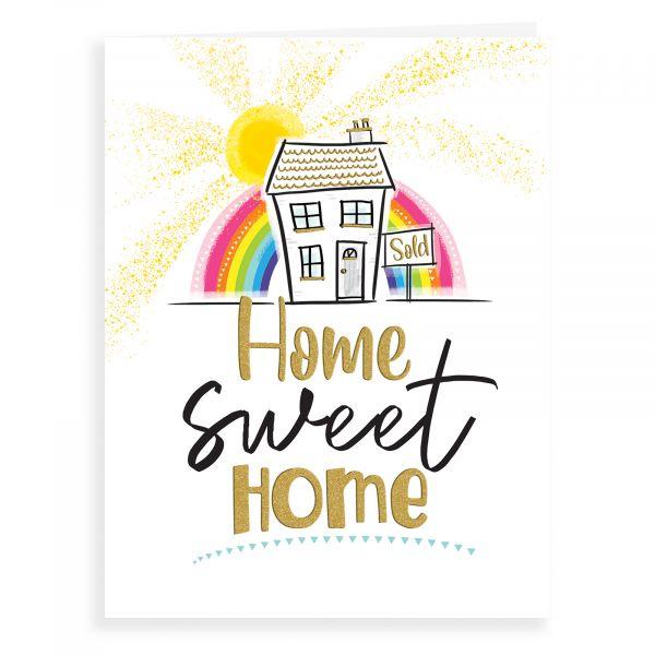 New Home Card, Home Sweet Home