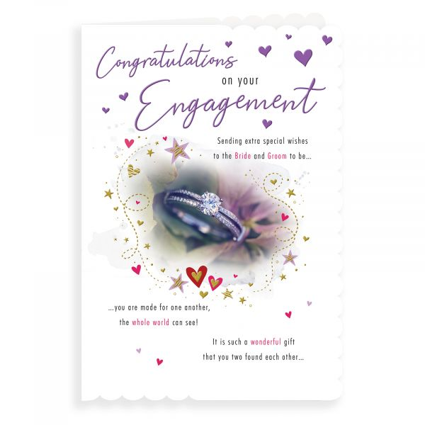 Engagement Card, Daimond Ring
