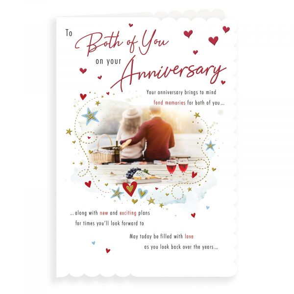 Anniversary Card Your, Couple Picnc