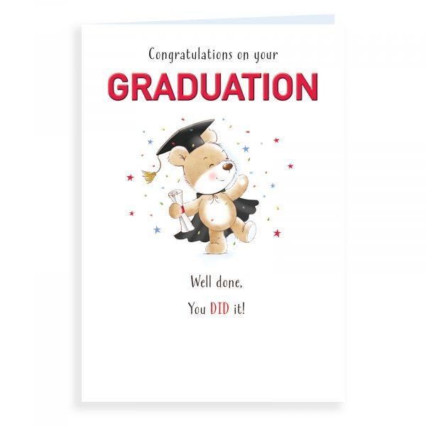Good Luck Card Graduation