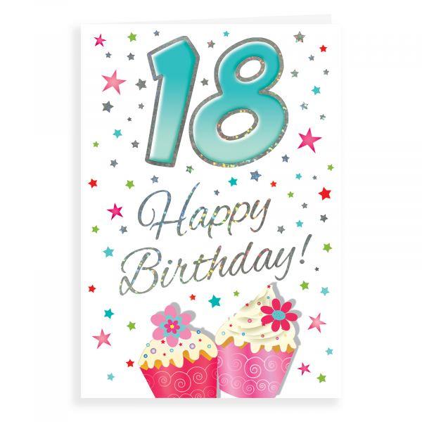 Birthday Card Age 18 F, That Funny Age