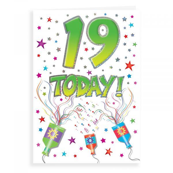Birthday Card Age 19
