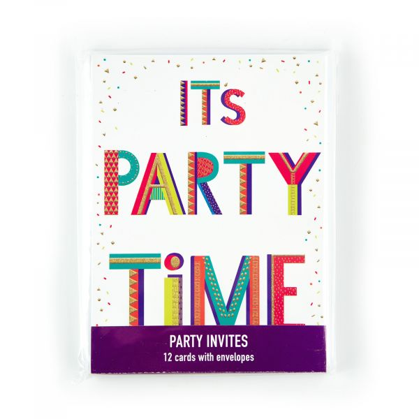 Invitation Pack It's Party Time