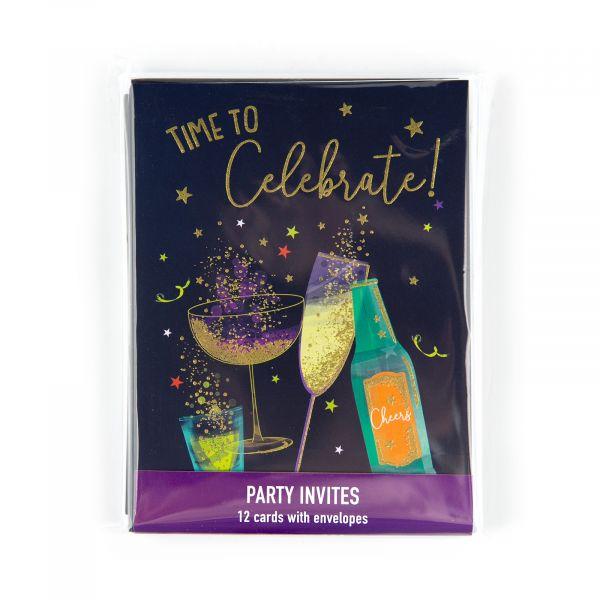 Invitation Pack Let's Celebrate