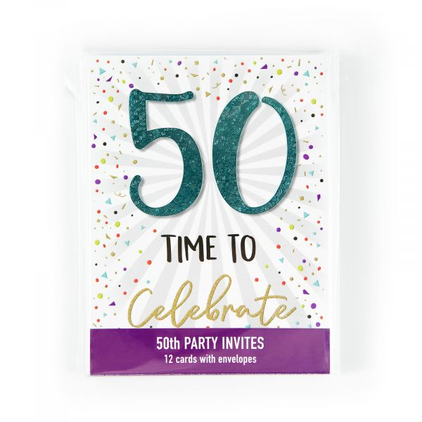Birthday Party Invitations Age 50