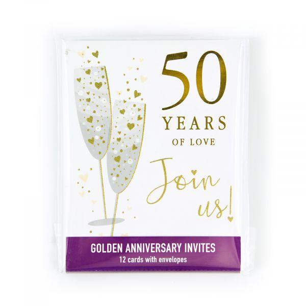Invitation Pack Golder Annivesary 50 Years