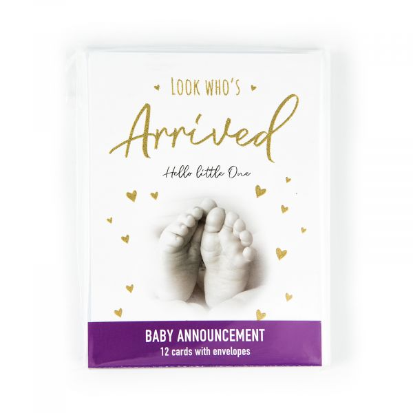 Invitation Pack Baby Announcement