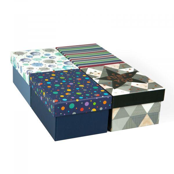 Male Mini Gift Box Tray (4 Assorted)