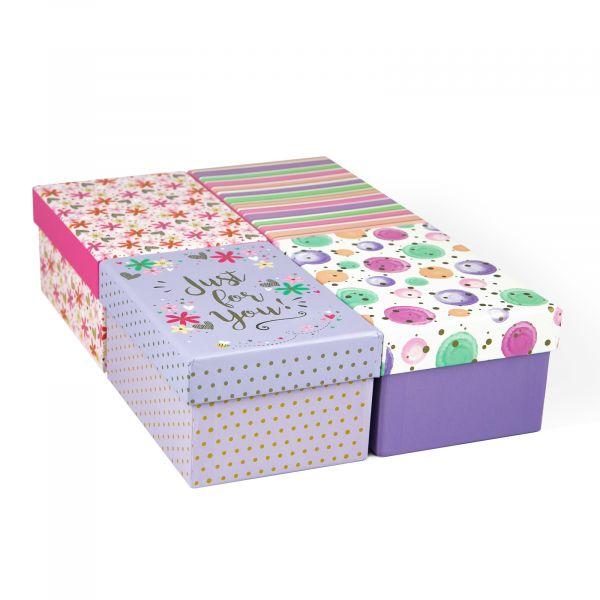 Female Mini Gift Box Tray (4 Assorted)
