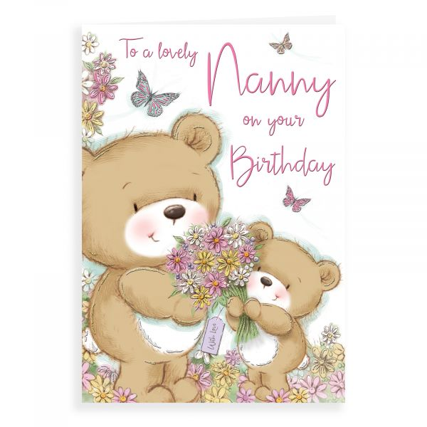 Birthday Card Nanny, Bear